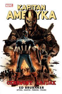 Kapitan Ameryka – Czerwony łajdak, tom 2 - okładka