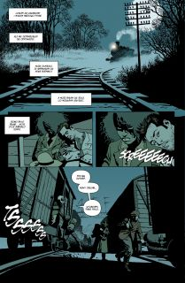 Księżycówka #02. Pociąg rozpaczy - plansza