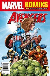 Marvel Komiks, tom 4 - okładka