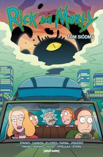 Rick i Morty, tom 7 - okładka