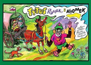Tytus, Romek i A'Tomek na jedwabnym szlaku z wyobraźni Papcia Chmiela narysowani - okładka