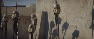 The Mandalorian - kadr ze zwiastuna serialu Disney+