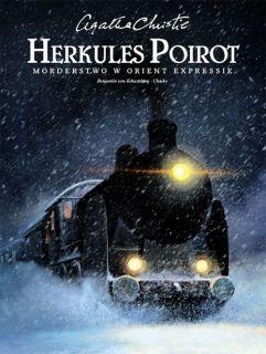 gatha Christie. Herkules Poirot - Morderstwo w Orient Expressie - okładka