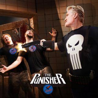 Dolph Lundgren - sesja jako Punisher
