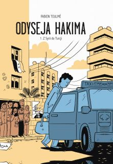 Odyseja Hakima tom 1 okładka