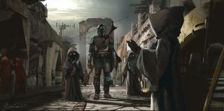 The Mandalorian - odcinek 3 - szkic koncepcyjny