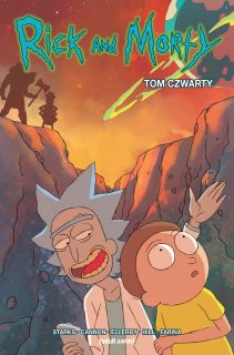 Rick i Morty Tom 4 okładka