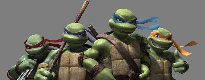 """Ubogie spojrzenie na Michelangelo z """"Teenage Mutant Ninja Turtles"""""""