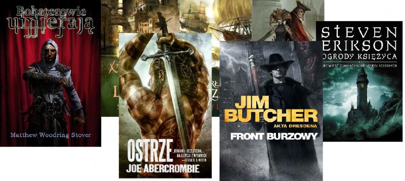 Najlepsze współczesne serie fantasy