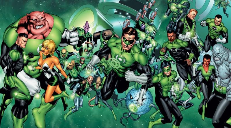 Oficjalnie: Te Zielone Latarnie zobaczymy w filmie Green Lantern Corps