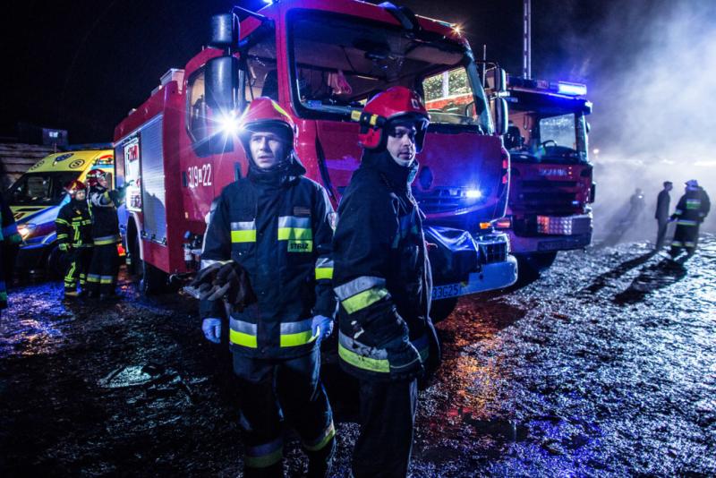 Strażacy z niską widownią w sobotnie wieczory