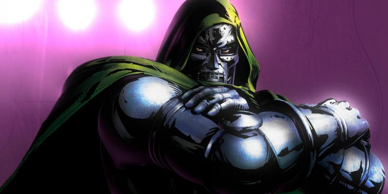 Doktor Doom z Rękawicą Nieskończoności na szkicu grafika Marvel Studios