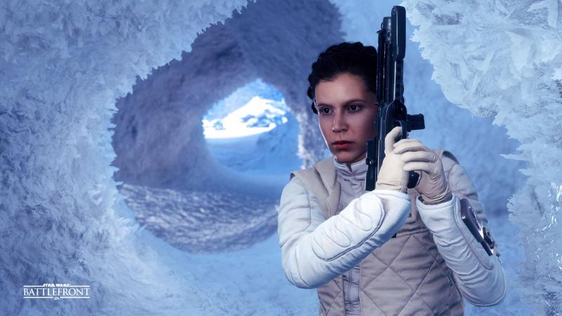 Anna Dereszowska jako Leia Organa w Star Wars Battlefront II. Zobaczcie wideo