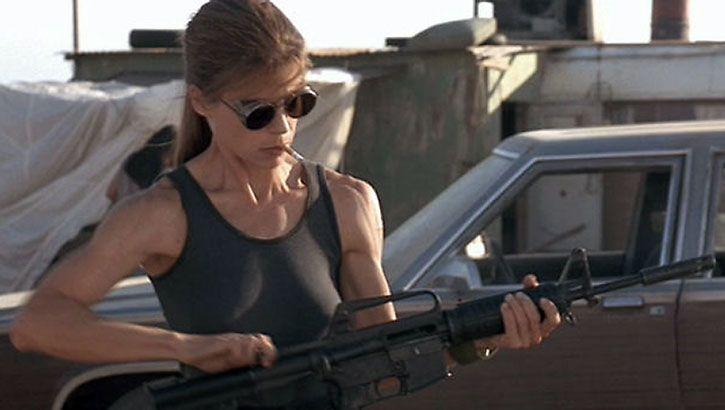 Sarah Connor i nowe bohaterki. Oficjalne zdjęcie z filmu Terminator 6