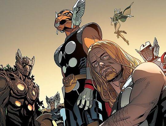 Tajne wojny. Thorowie – recenzja komiksu