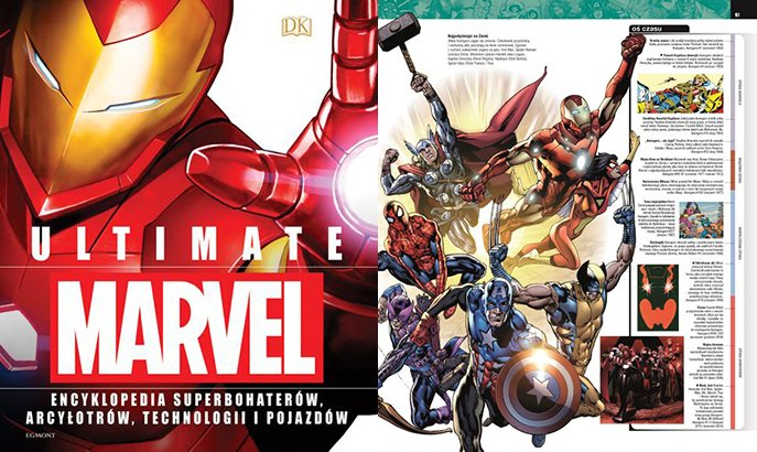 Ultimate Marvel. Encyklopedia superbohaterów, arcyłotrów, technologii i pojazdów – recenzja
