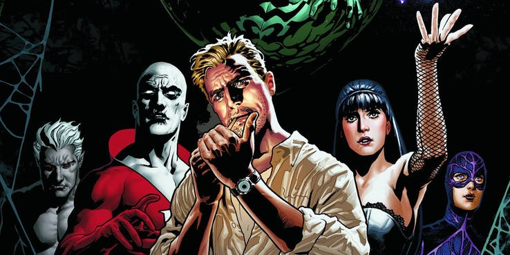 Justice League: Dark - szkice ze skasowanego filmu. Potwór z bagien jest ogromny [+18]