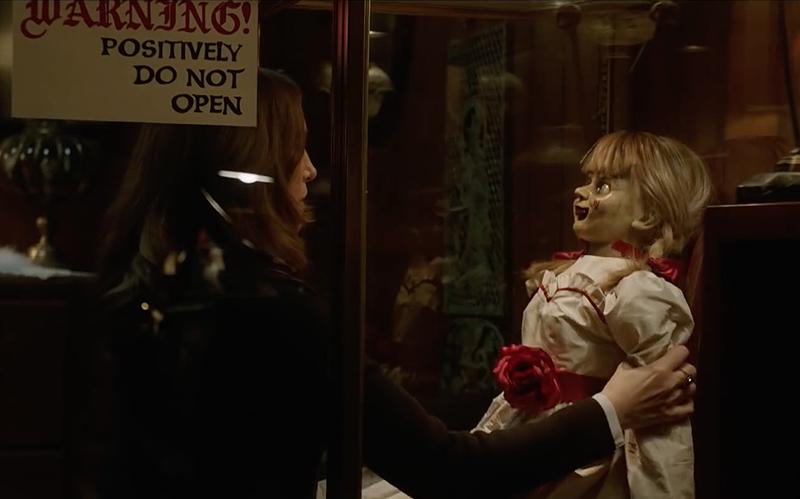Annabelle wraca do domu - nowy zwiastun filmu o demonicznej lalce