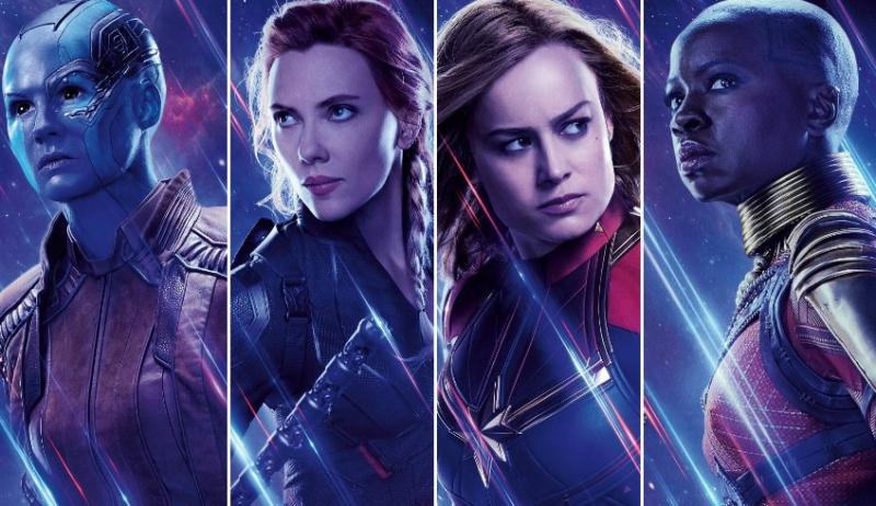Avengers: Koniec gry - bohaterki Marvela od kulis i Kapitan Ameryka z nową bronią