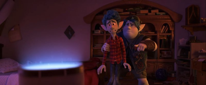 Naprzód - pełny zwiastun nowej animacji Pixara. Przygoda elfów