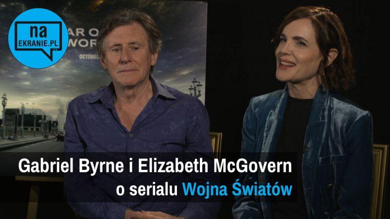 Wojna światów - wywiad wideo. Gabriel Byrne i Elizabeth McGovern o serialu