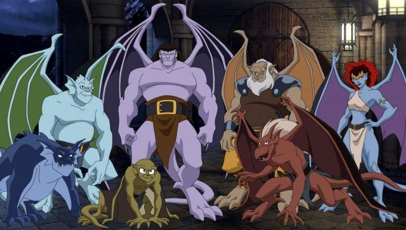 Gargoyles - Disney+ zawiera nieocenzurowaną wersję serialu dla starszych dzieci