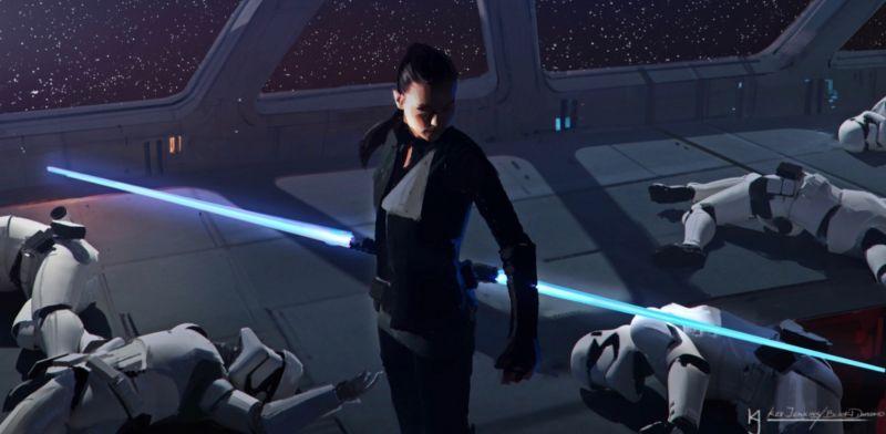 Star Wars 9 - niedoszły reżyser komentuje wyciek szkiców
