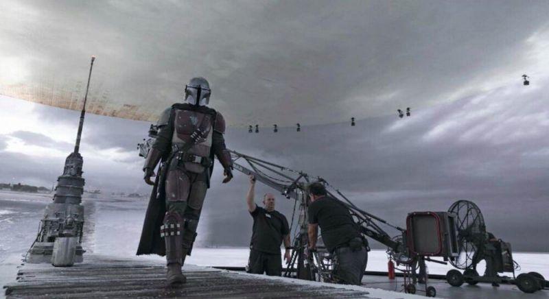The Mandalorian - Star Wars znów wprowadza nowatorską technologię. Tak wygląda na planie [ZDJĘCIA]