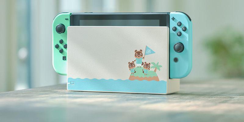 Animal Crossing: New Horizons - Nintendo zapowiada limitowaną wersję Switcha