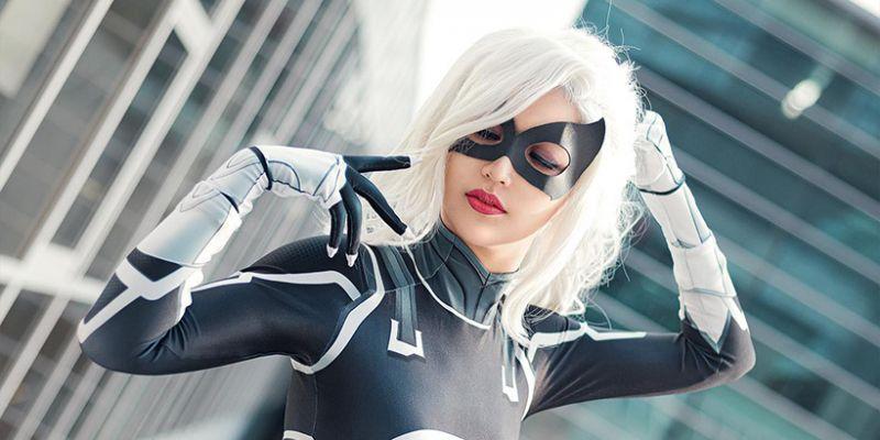 Marvel's Spider-Man - cosplayerka Black Cat kusi jak nikt. Zobacz zdjęcia