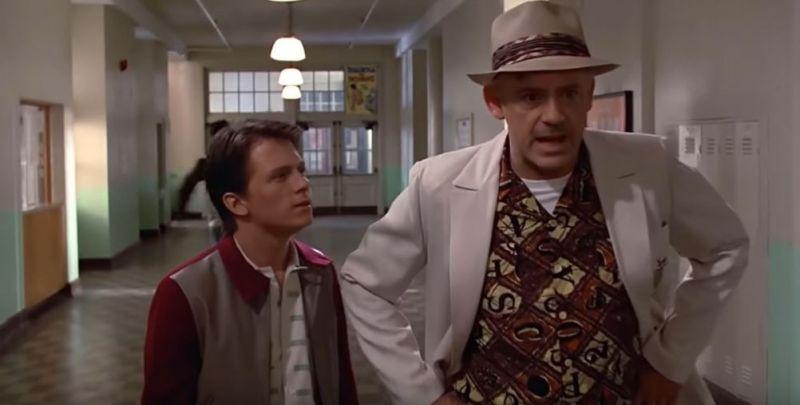 Powrót do przyszłości, ale w rolach głównych Robert Downey Jr. i Tom Holland [DEEPFAKE]