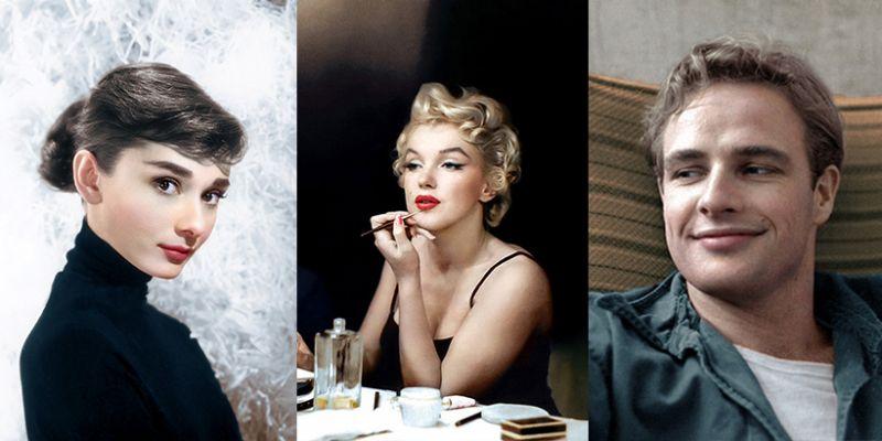 Legendy Hollywood w kolorze. Od tych zdjęć nie można oderwać oczu