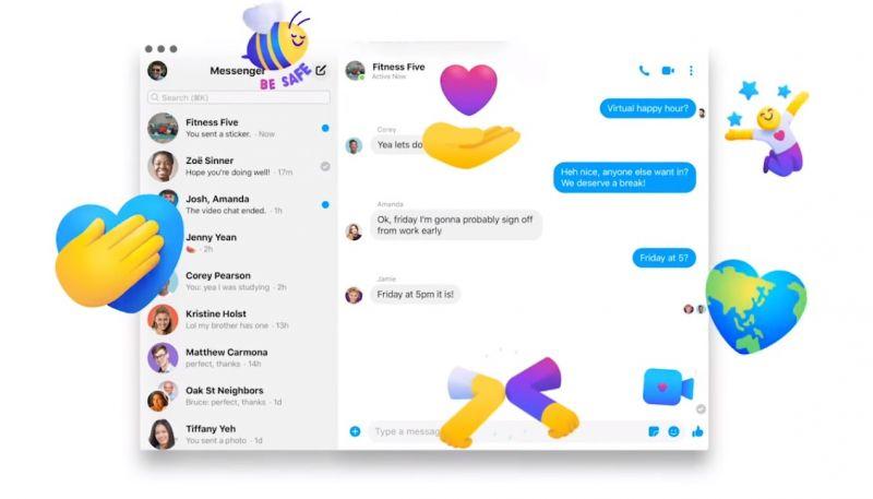 Facebook Messenger jako aplikacja na peceta