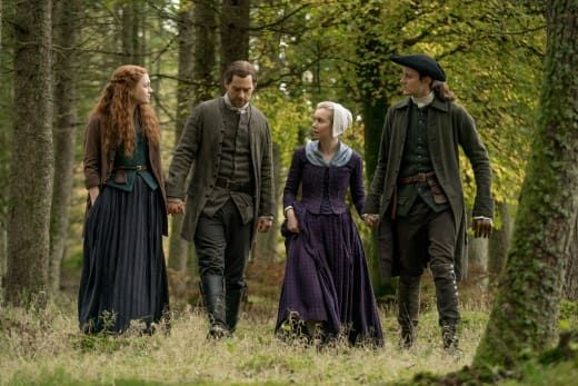 Outlander - rozpoczęto prace na planie 6. sezonu. Zdjęcia od kulis