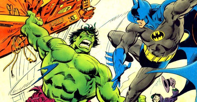 """Batman stłukł kiedyś Hulka na kwaśne jabłko. Taktyka """"na wariata"""" popłaciła"""