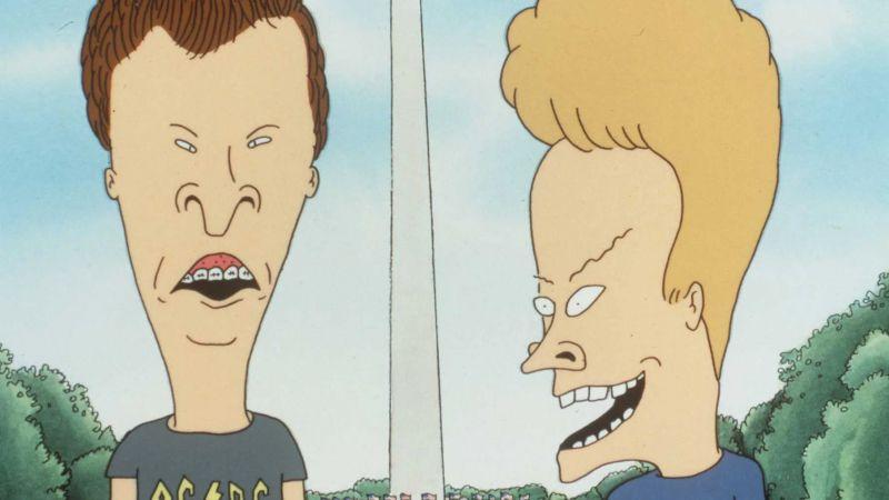 Beavis i Butt-Head - zapowiedź nowych odcinków serialu. Bohaterowie na konferencji prasowej