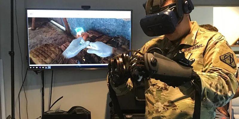 Medycy z amerykańskiej armii będą szkolić się w VR
