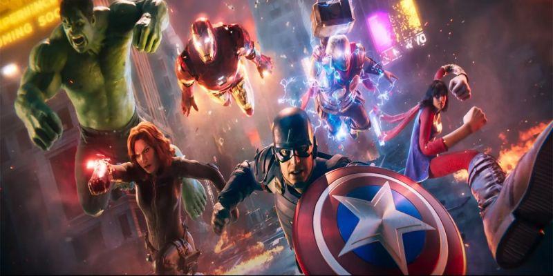 Marvel's Avengers ze zwiastunem CGI. Kapitan Ameryka prowadzi Mścicieli do boju