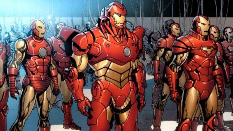 Marvel - ile modeli zbroi stworzył Iron Man w komiksach? Do MCU nieco brakuje