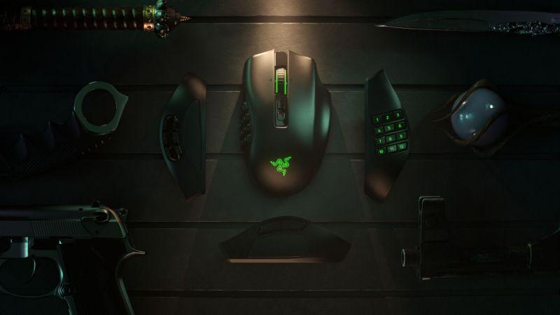 Razer Naga Pro - modułowa i bezprzewodowa myszka dla wymagających graczy