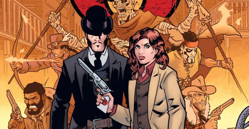 Szósty rewolwer i inne: zobacz plansze z zapowiedzi Timof Comics