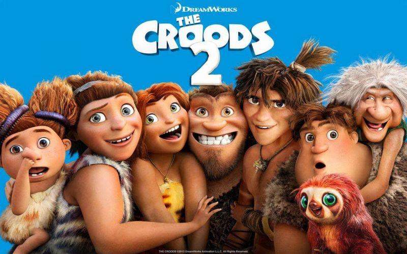 Krudowie 2 - premiera animacji o prehistorycznej rodzinie przyspieszona