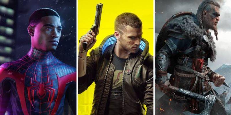 GRY 2020 - premiery: Cyberpunk 2077, Spider-Man: Miles Morales i Assassin's Creed: Valhalla. Co jeszcze?