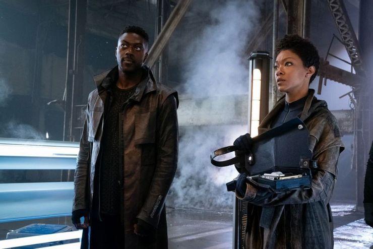 Star Trek: Discovery - zdjęcia z premierowego odcinka 3. sezonu serialu. Nowi kosmici na drodze bohaterów