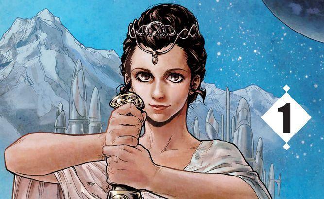 Gwiezdne Wojny - manga o nastoletniej Lei trafi do sprzedaży. Prezentuje się znakomicie