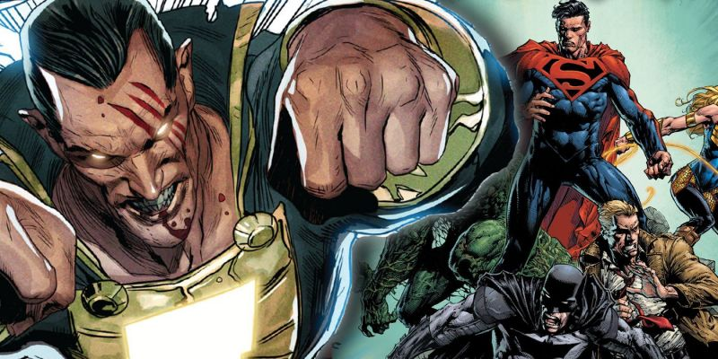 Jak potężny jest Black Adam? Sami spójrzcie, co właśnie zrobił z Supermanem i Wonder Woman