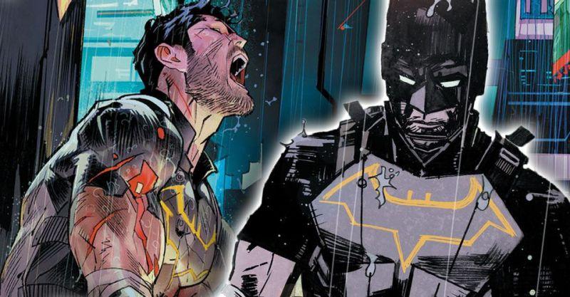 """Gotham przyszłości zapomina Batmana. """"Bruce Wayne chyba przedawkował narkotyki"""""""
