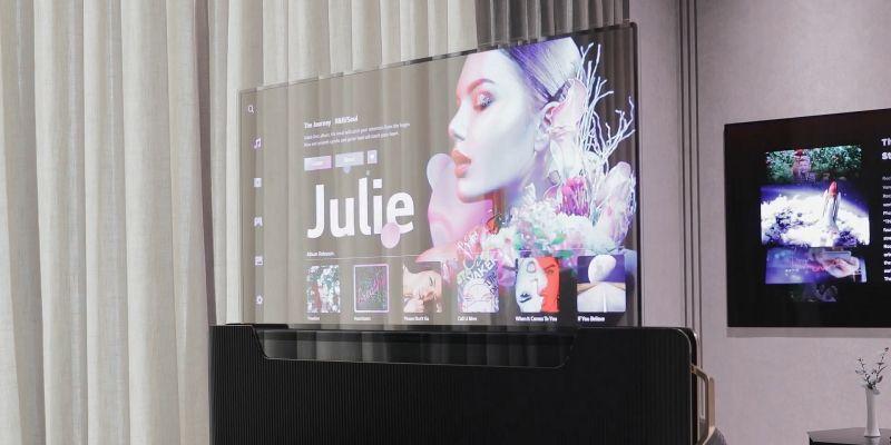 LG chce wyposażyć nasze łóżka w przezroczyste telewizory [CES 2021]