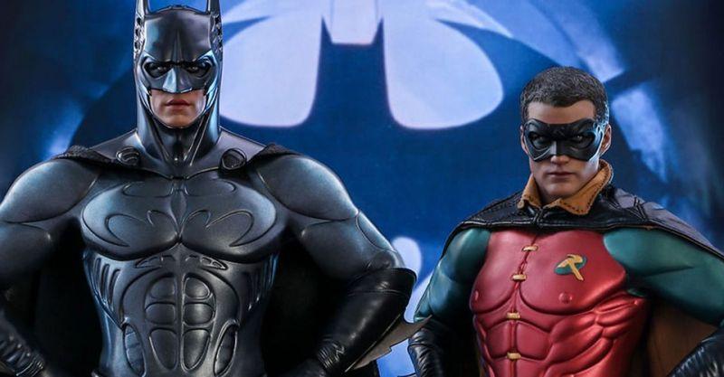 Batman Forever - figurki kolekcjonerskie z filmu Schumachera. Batman i Robin jak żywi