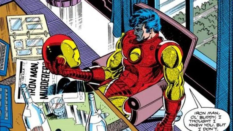 Iron Man, heros uzależniony. Wraca kwestia jego zamiłowania do narkotyków i alkoholu